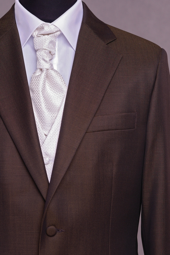 dd1af9b149 barna, karcsúsított, gyapjú öltöny