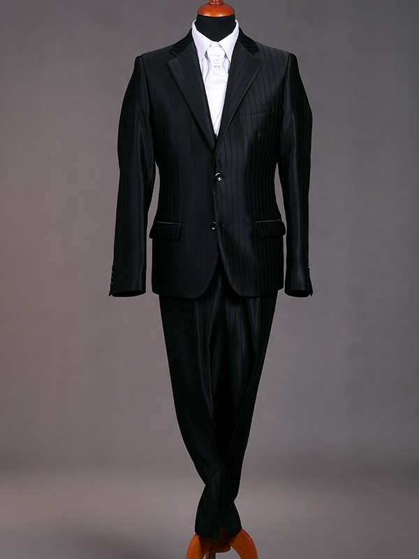 45004480b8 2 gombos öltöny, gyapjú-selyem öltöny,